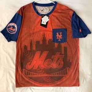 Orange New York Mets Dri- Fit Shirt Men's NWT
